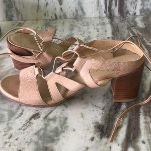 Stuart Weizman Leather Gladiator sandals